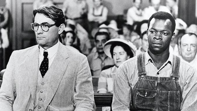 To Kill a Mockingbird Bülbülü Öldürmek Gregory Peck