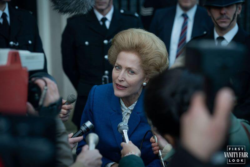 The Crown Margaret Thatcher Gillian Anderson