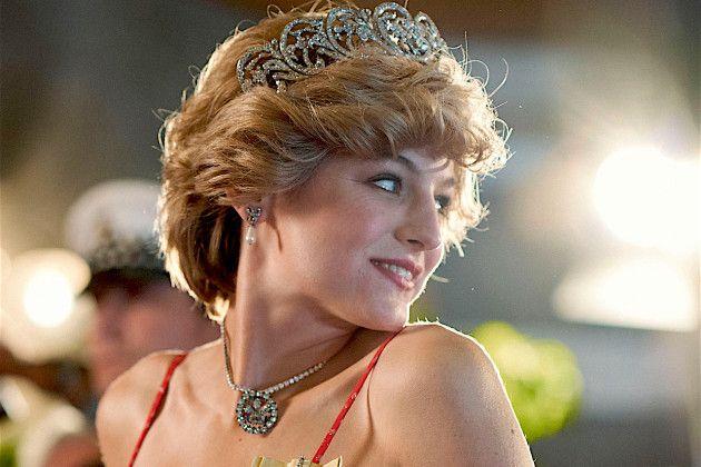 The Crown Emma Corrin Prenses Diana