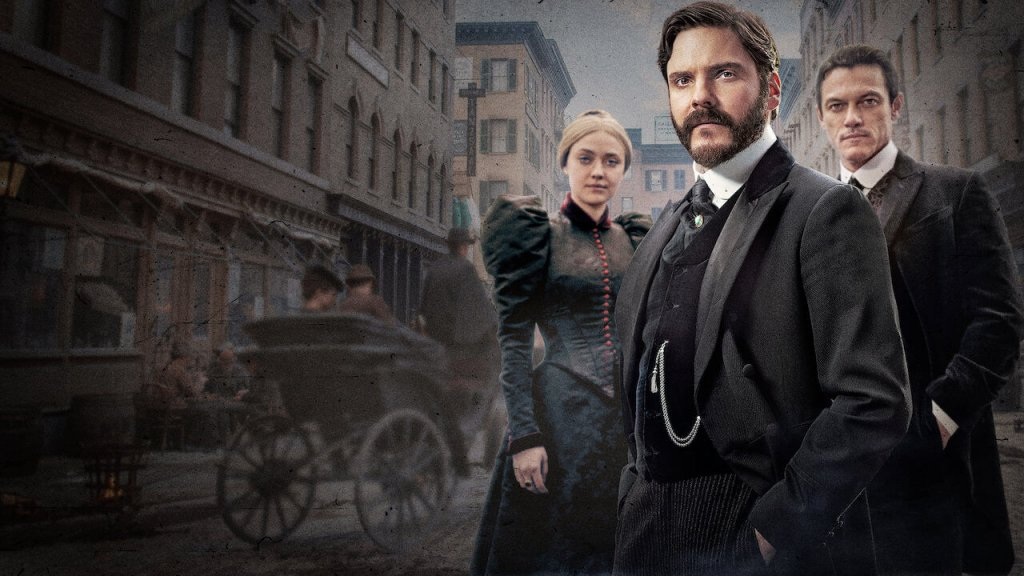 The Alienist Daniel Brühl Dakota Fanning Luke Evans