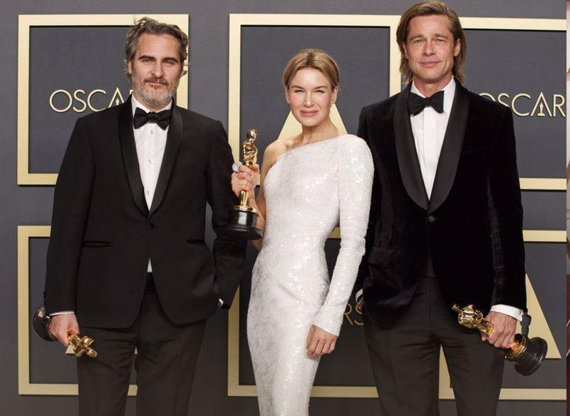 Oscar Brad Pitt Renee Zellweger Joaquin Phoenix Brad Pitt