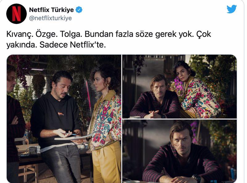 Kıvanç Tatlıtuğ Özge Özpirinçci Tolga Karaçelik Netflix dizi