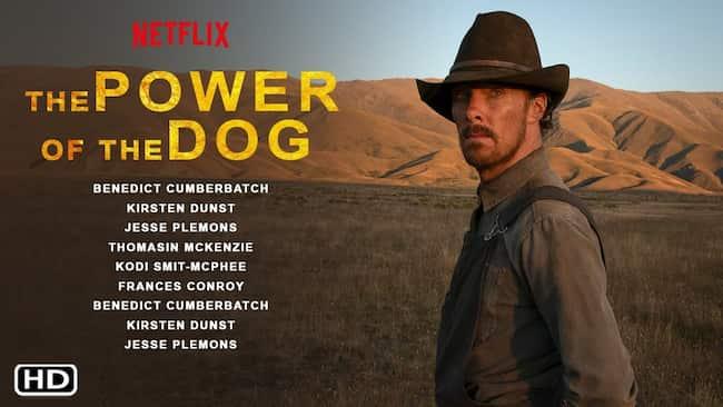 The Power of the Dog Benedict Cumberbatch