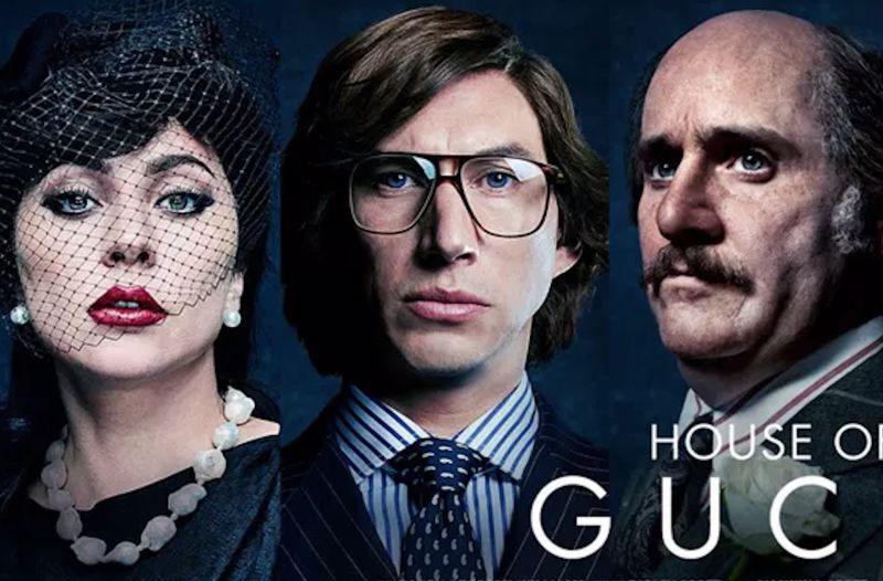 House of Gucci Lady Gaga Adam Driver Jared Leto